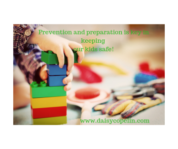 Prevention and preparation is key in keeping our kids safe!