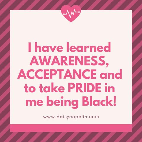 i was ashamed of being black. (1)